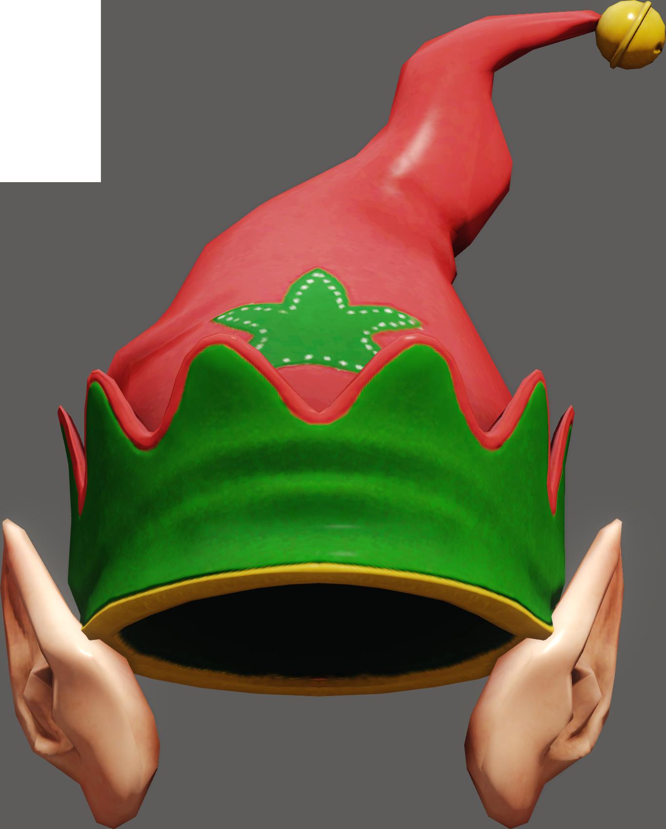 Download Christmas Santa Elf Hats Mrs Clausas Hat ...