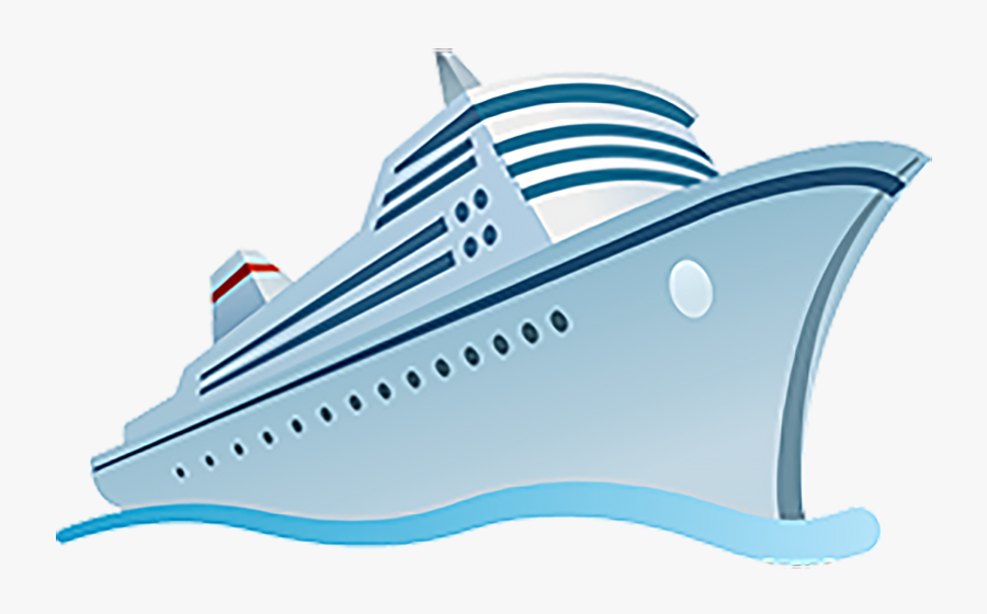 Cruise Ship Clipart Transparent Background - Transparent Background Cruise Ship Clipart, Transparent Clipart