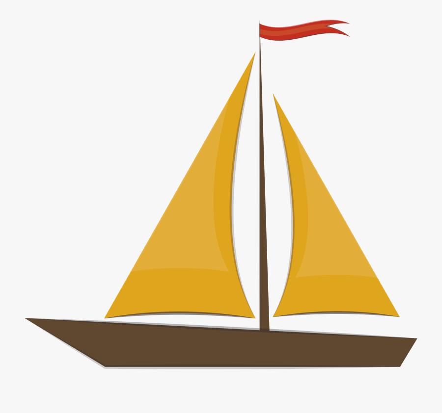 Sailing Ship Clipart Egg - Illustrator Ship Png, Transparent Clipart