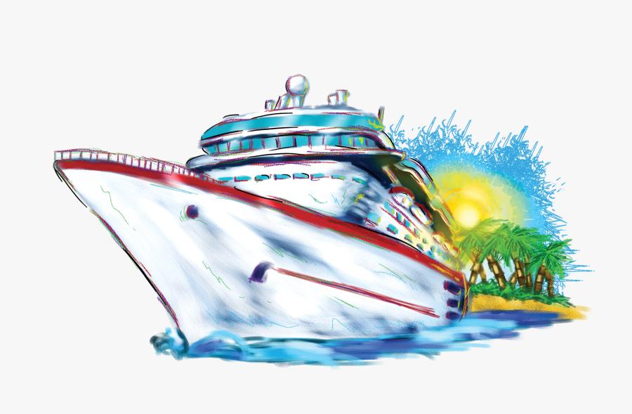 Clip Art Clip Art Freeuse - Cruise Ship Clip Art, Transparent Clipart