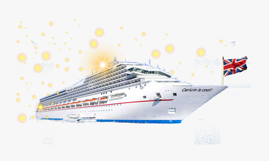 Download Free Anatomy Of - Cruise Ship, Transparent Clipart