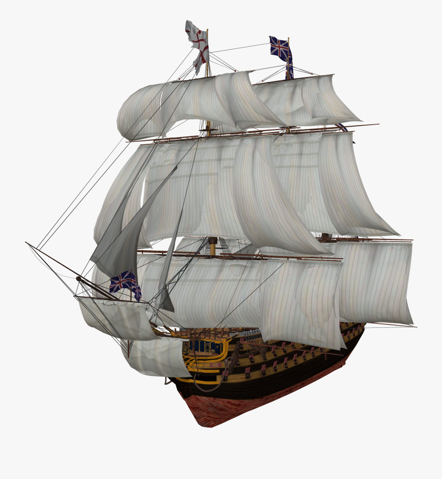 Sailing Ship Clipart Mickey Mouse - Transparent Sail Ship Png, Transparent Clipart