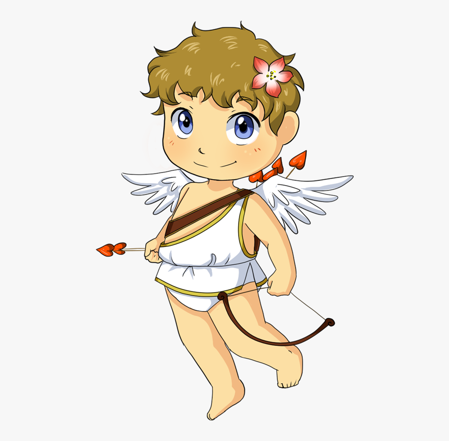 Cupid Clipart Valentines Vector Black And White Library - Valentines Day Clipart  Cupid PNG Image | Transparent PNG Free Download on SeekPNG