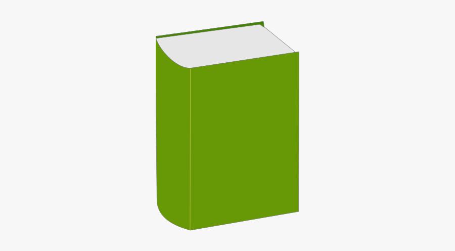 Square,green,desk - Small Clip Art Book, Transparent Clipart