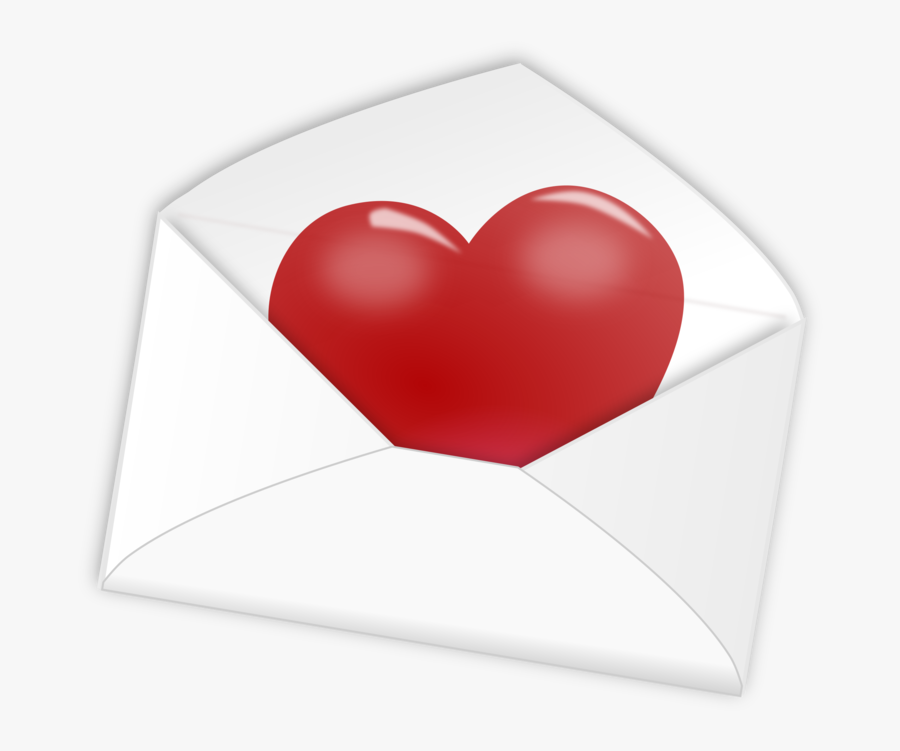Free Clipart - Valentines Day Note Clipart, Transparent Clipart