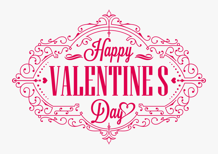 Valentines Day Png Hd - Happy Valentines Day Transparent, Transparent Clipart
