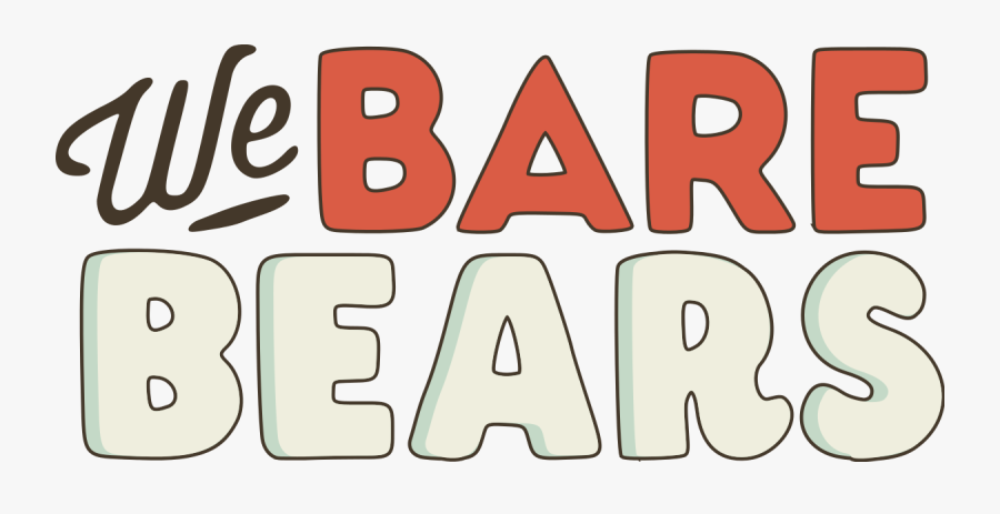 We Bare Bears Logo Png, Transparent Clipart