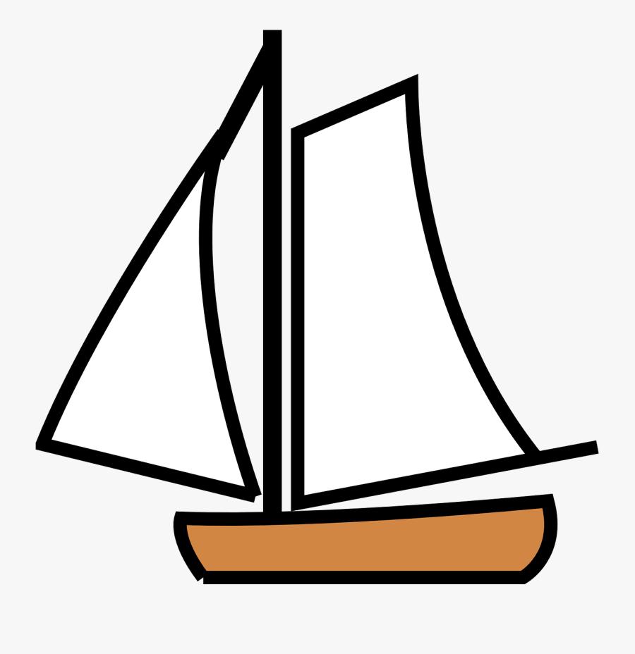 Sailing Ship Clipart Sailor Boat - Sailing Boat Clip Art, Transparent Clipart