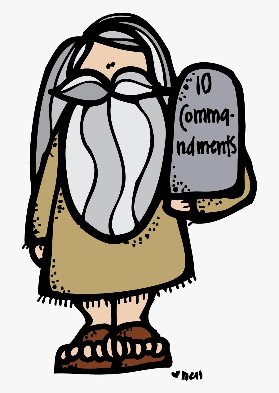 Sydney Clipart Bible - Moses And 10 Commandments Clip Art, Transparent Clipart