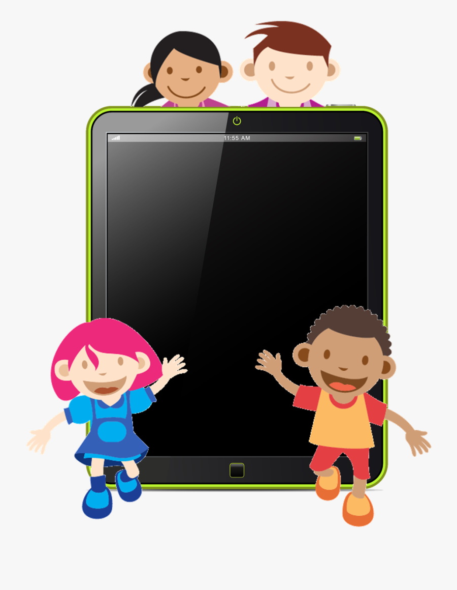 Pad Clipart Kid - Kids Ipad Cartoon , Free Transparent Clipart - ClipartKey