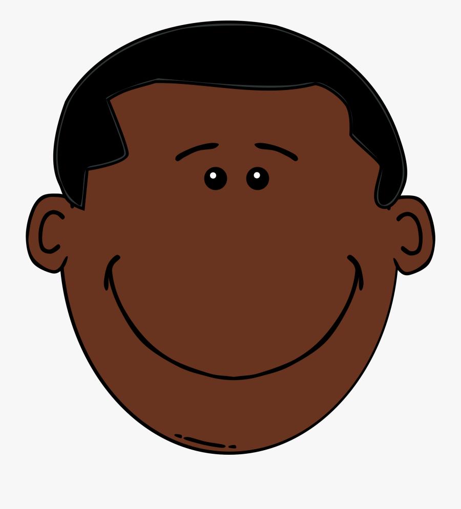 Transparent Black Face Png - Black Man Face Clipart, Transparent Clipart