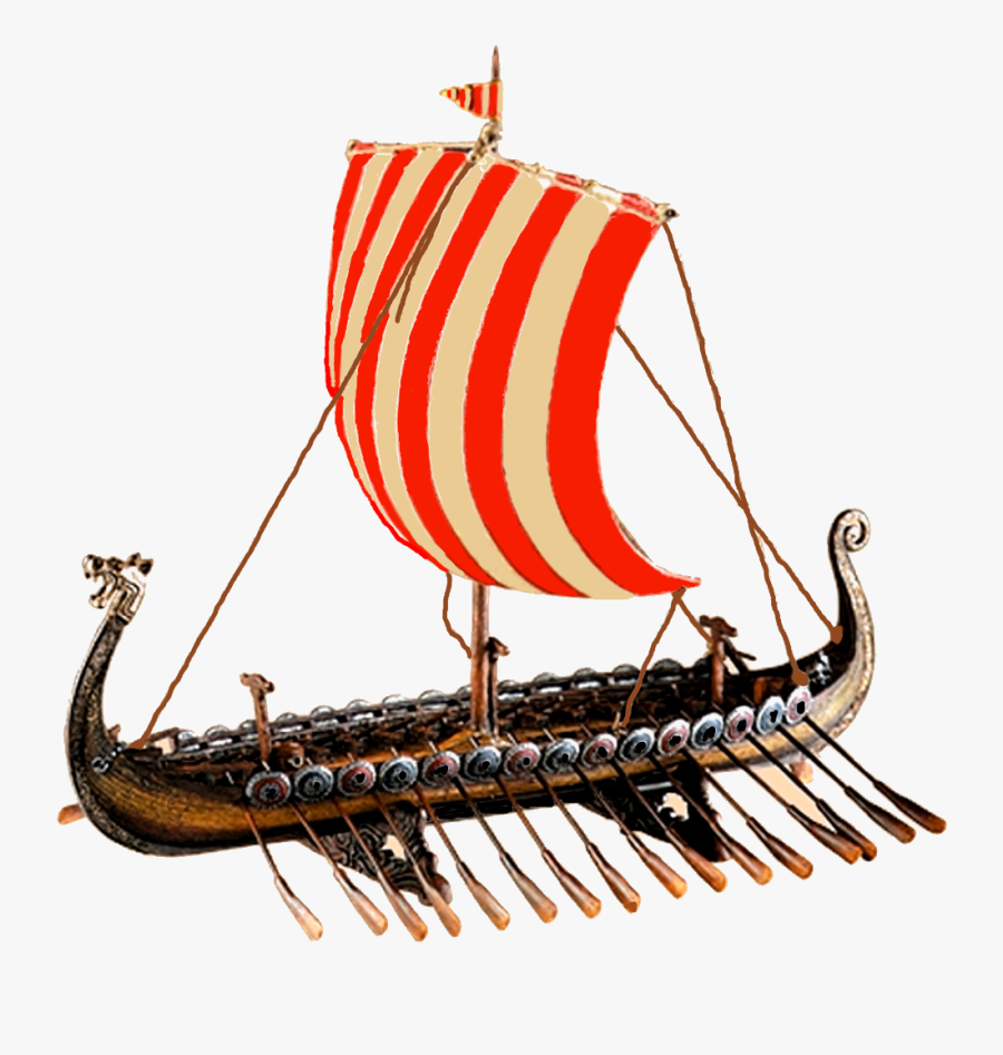 Viking Ship Clipart Transparent - Viking Ship No Background, Transparent Clipart