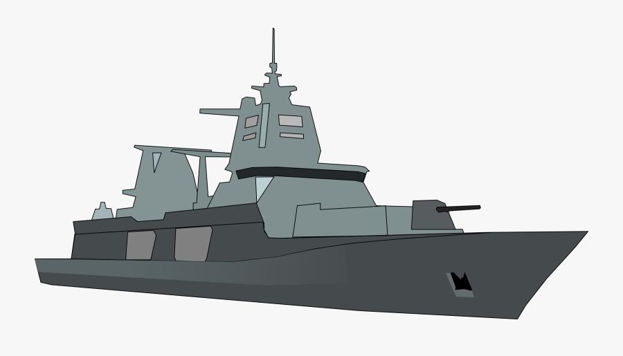 Navy Clipart Battle Ship - Naval Ship Clip Art, Transparent Clipart