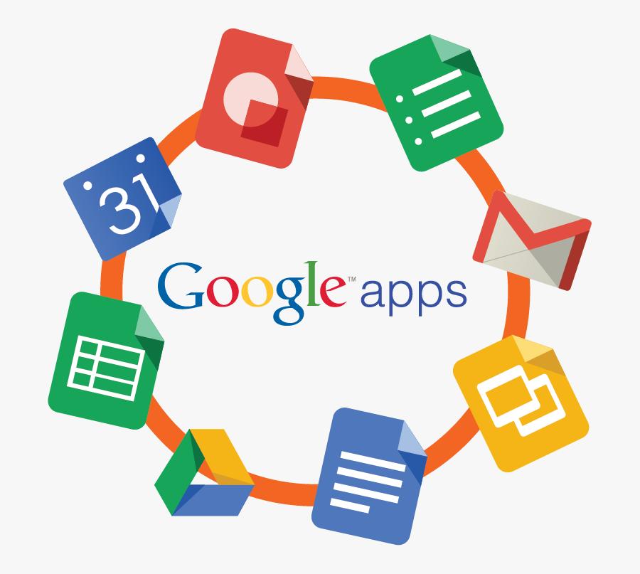 Teacher Clipart Google Classroom - Google Apps Transparent Background, Transparent Clipart