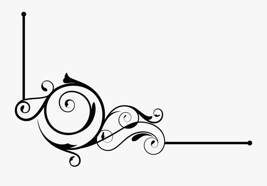 Decorative Line Gold Clipart Borders - Design Border Line Png, Transparent Clipart