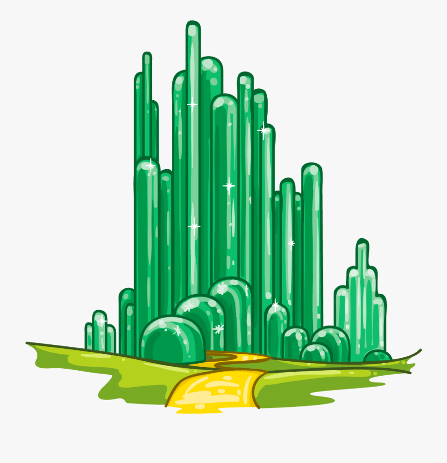 Wizard Of Oz Crown Clipart - Emerald City The Wonderful Wizard Of Oz, Transparent Clipart