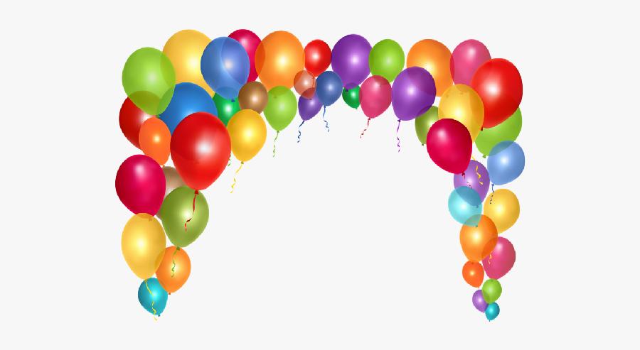 Clipart Balloon Cartoon - Cartoon Party Balloons, Transparent Clipart