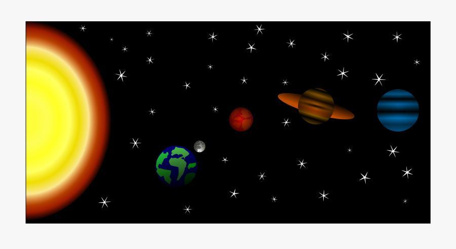 Atmosphere,astronomical Object,space - Sistema Solar En Inkscape, Transparent Clipart