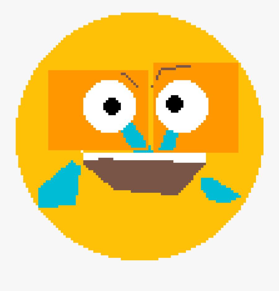 Sad Laughing Emoji - Sad And Laughing Emoji, Transparent Clipart