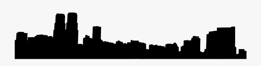Skyline Clipart Transparent City - City Skyline Vector Png, Transparent Clipart
