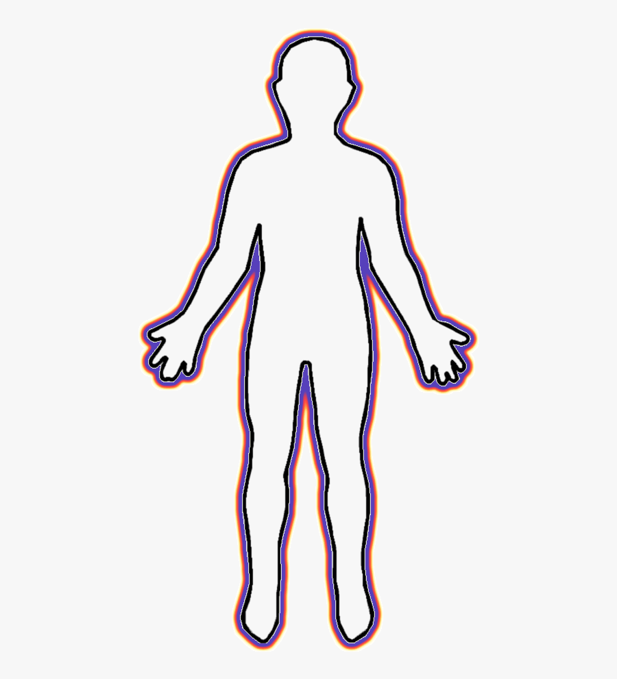 Human Body Clip Art Human Body Cartoon Outline Free Transparent Clipart Clipartkey