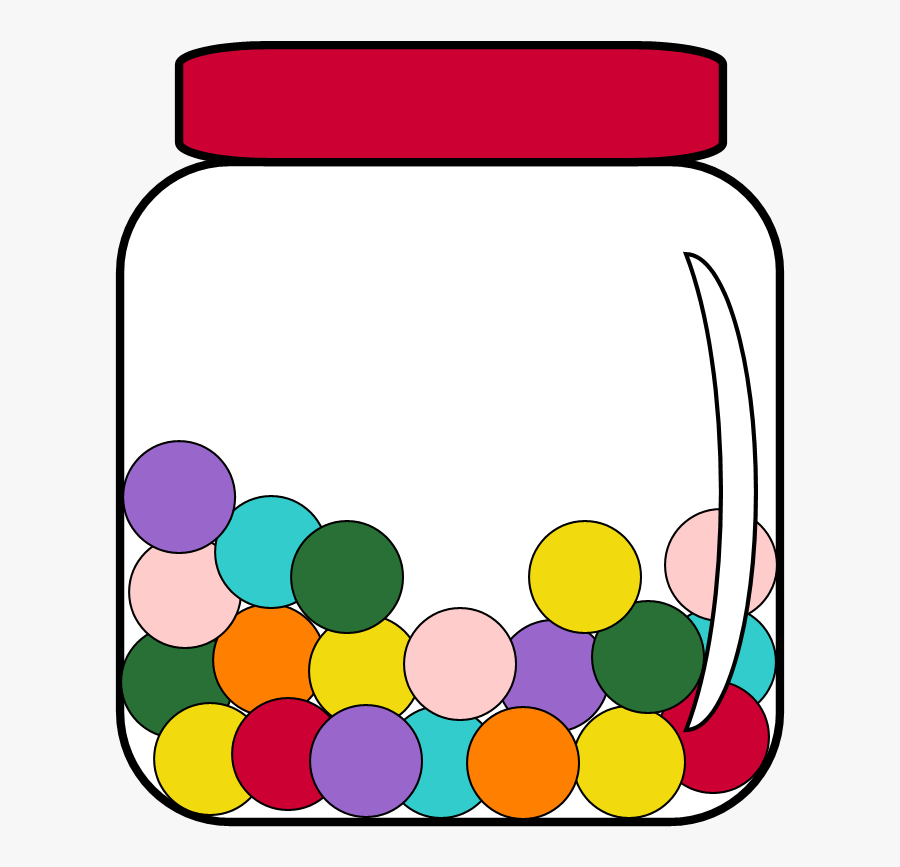 Candy Jar Clipart - Volume And Capacity Clipart, Transparent Clipart
