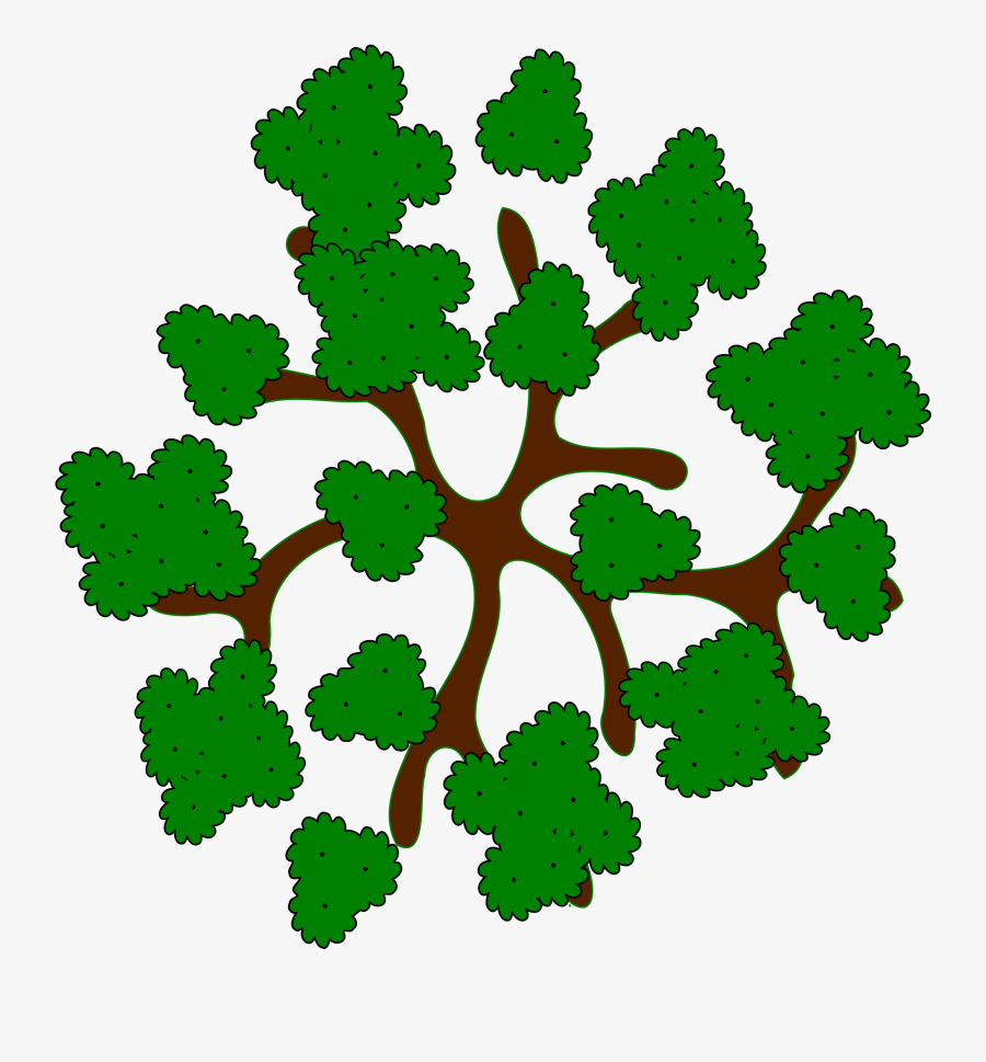 28 Collection Of Trees Clipart Top View - Top View Tree Clipart, Transparent Clipart