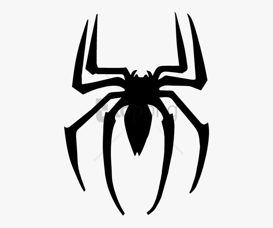 Spiderman Symbol Png - Transparent Background Spiderman Logo Png, Transparent Clipart