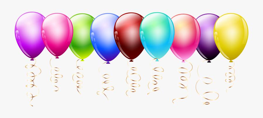 Balloon Clipart Summer - Clipart Transparent Balloon Color, Transparent Clipart