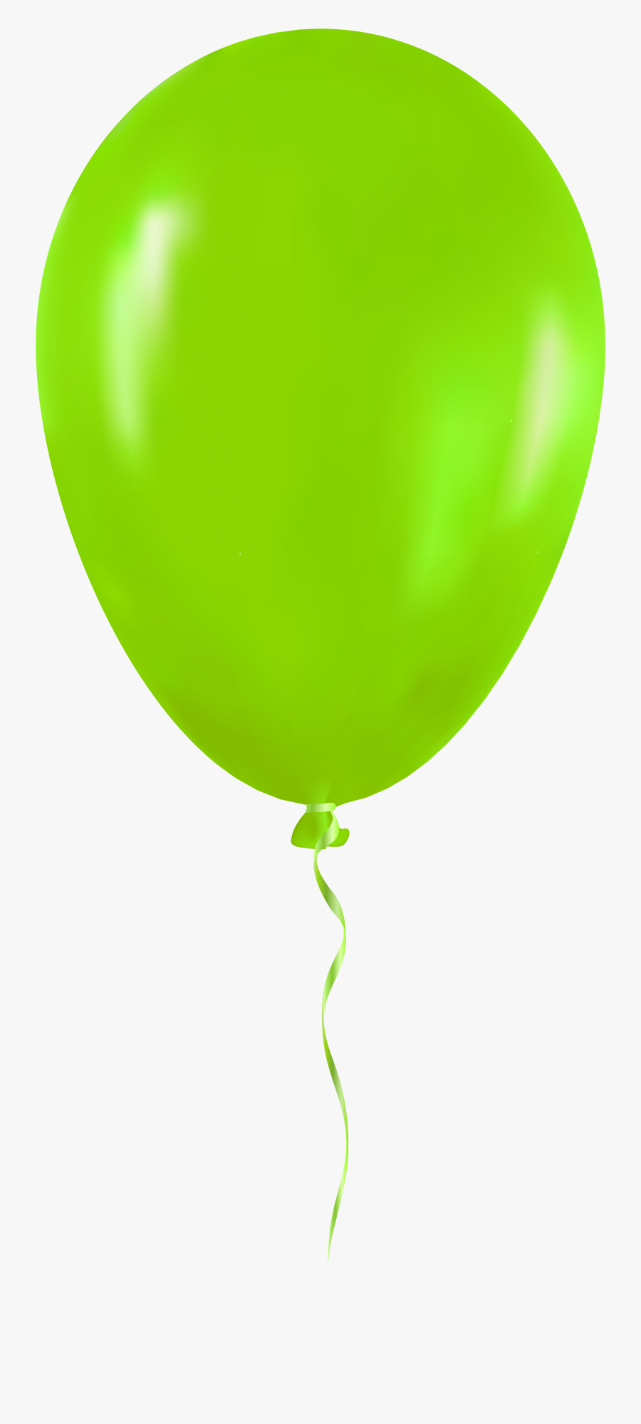 Green Balloon Png Clip Art - Green Balloon Transparent Background, Transparent Clipart