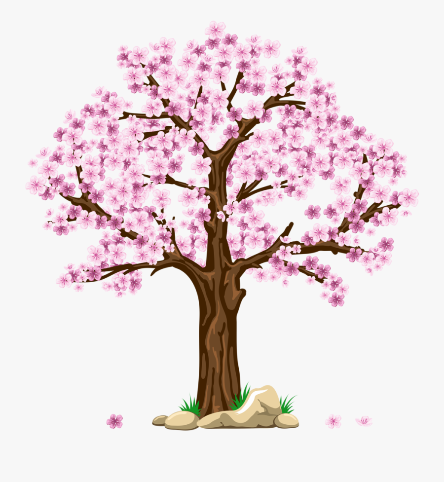 Pin By Judit S - Cherry Blossom Tree Clipart, Transparent Clipart