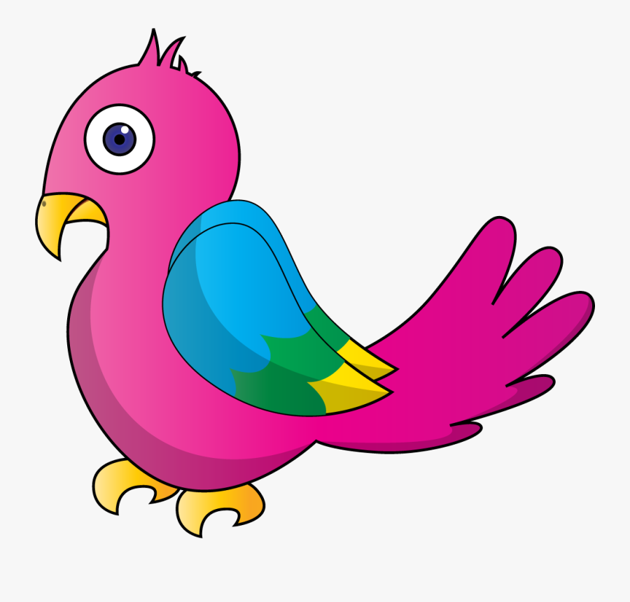 Bird Parrot Clipart At Free For Personal Use Transparent - Parrot Clipart, Transparent Clipart