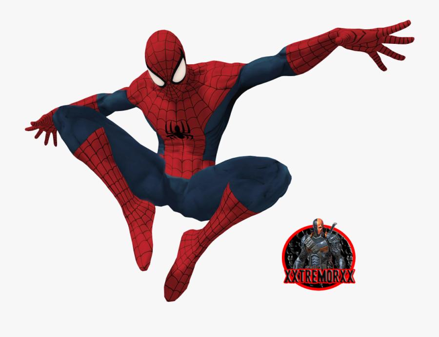 Spiderman Clipart Spiderman 3 - Spider Man Shattered Dimensions Spider Man, Transparent Clipart