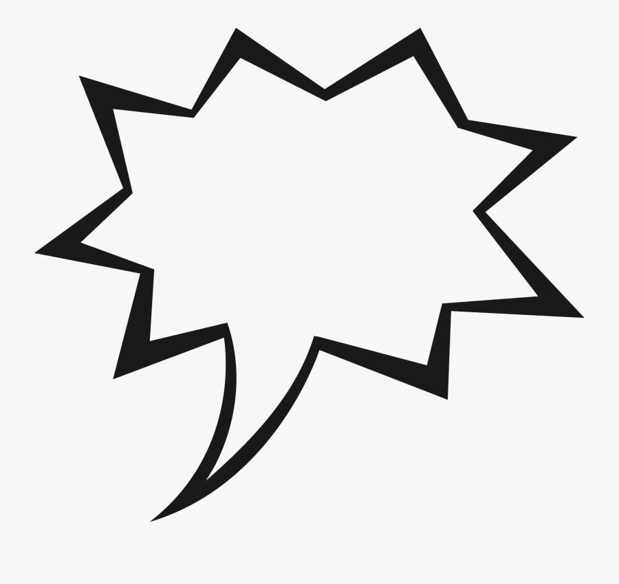 Speech Bubbles Thought Bubble Speech Clip Art At Vector - Comic Speech Bubble Transparent, Transparent Clipart