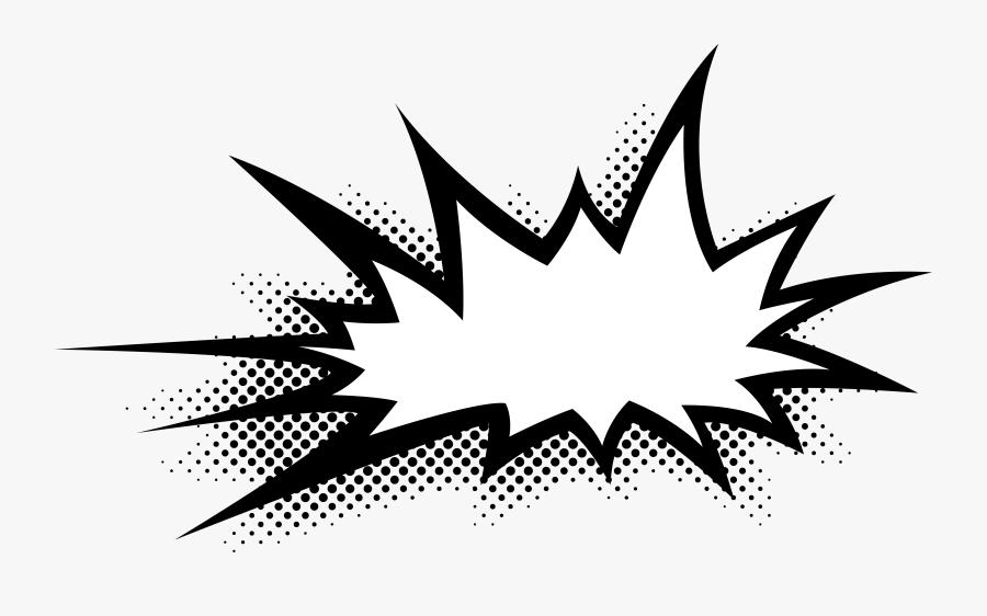 Comic Bubble Png, Transparent Clipart