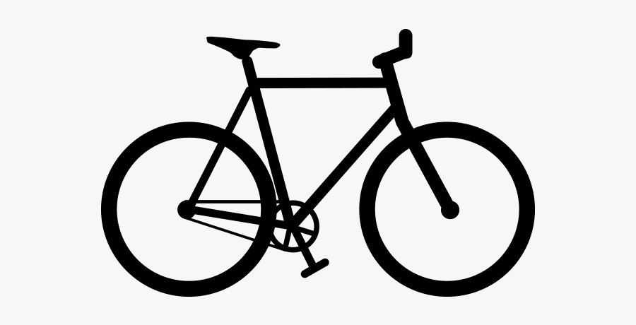 Bicycle Clipart Black And White Bike Vector Png Free Transparent Clipart Clipartkey