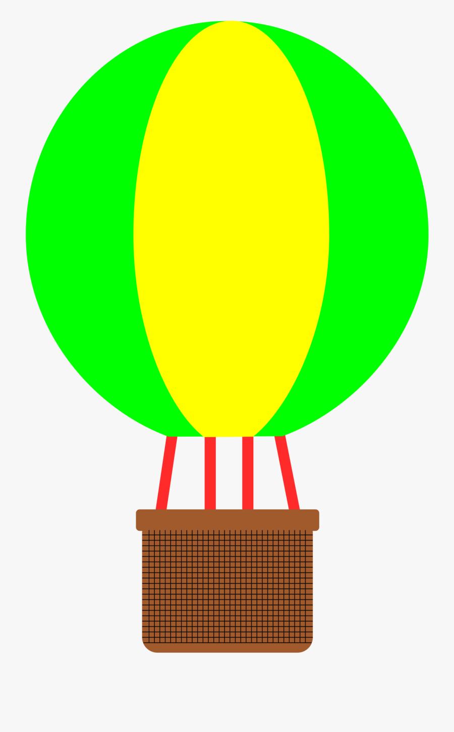 Free Hot Air Agomjo - Hot Air Balloon Basket Clipart, Transparent Clipart