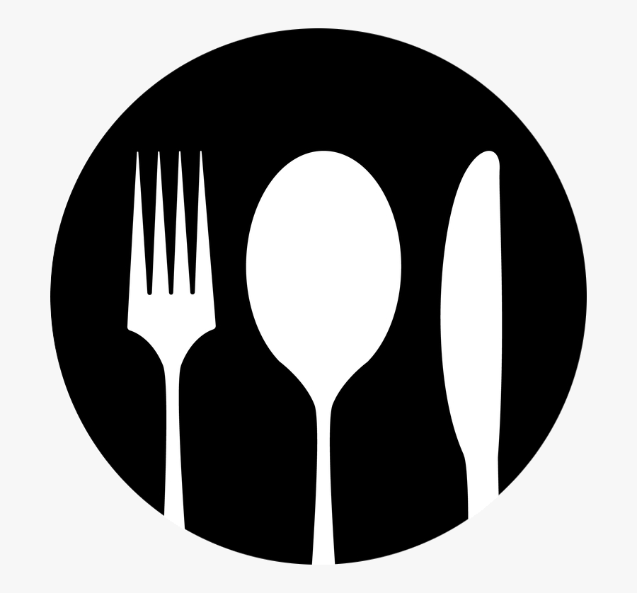 Knife Fork And Spoon Clipart - Spoon And Fork Png, Transparent Clipart