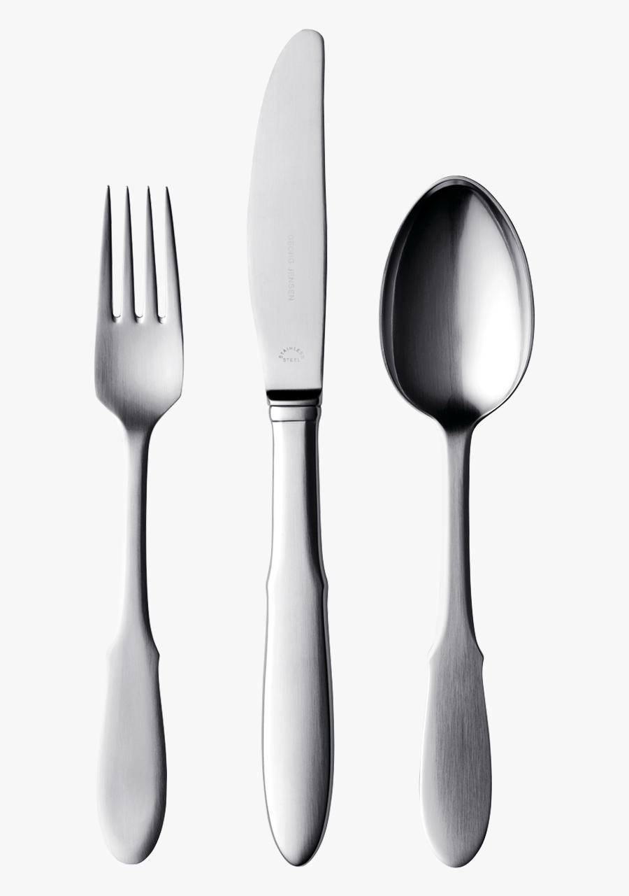 Fork And Knife Clipart - Spoon And Fork Png, Transparent Clipart
