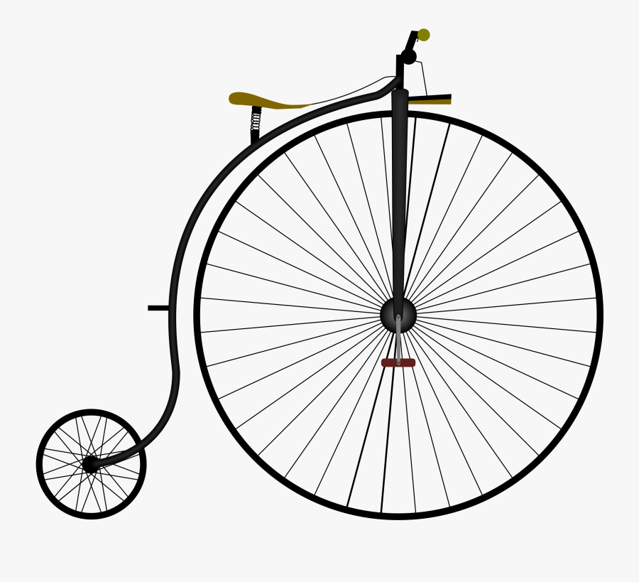 Penny Farthing Clipart, Transparent Clipart