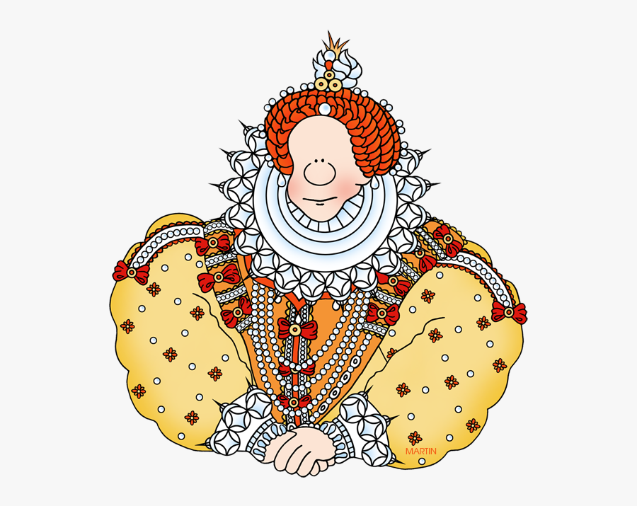 Transparent Way Clipart - Queen Elizabeth 1 Clipart, Transparent Clipart
