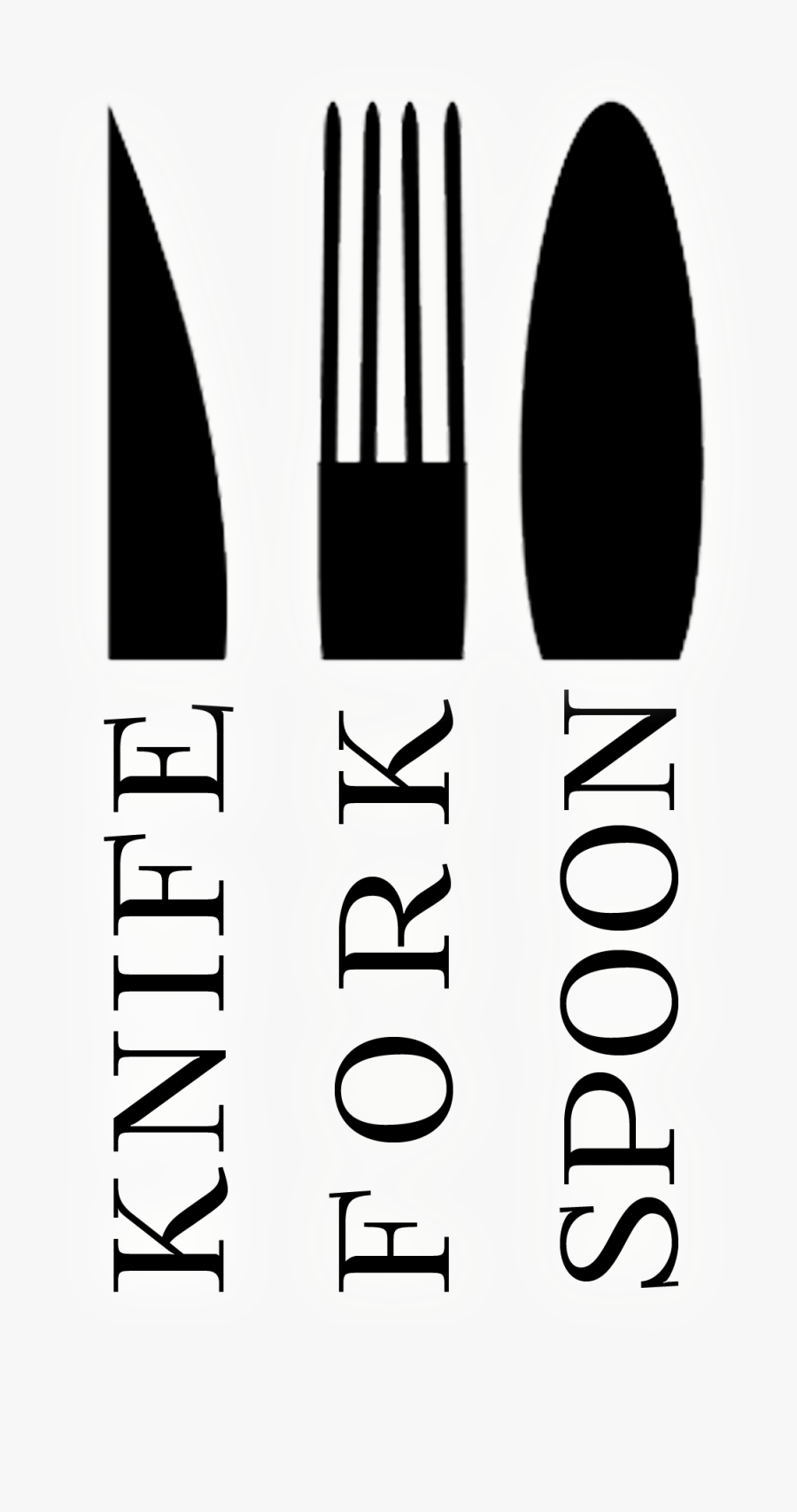 Fork And Spoon And Knife Png - Spoon And Fork Png, Transparent Clipart