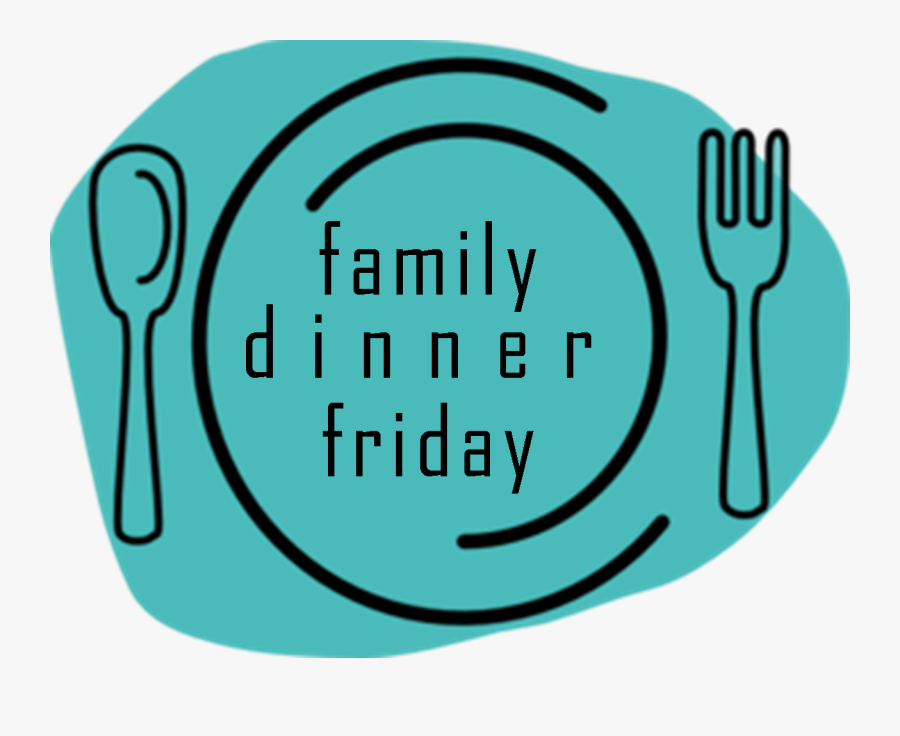 Family Dinner Friday - Spoon And Fork, Transparent Clipart