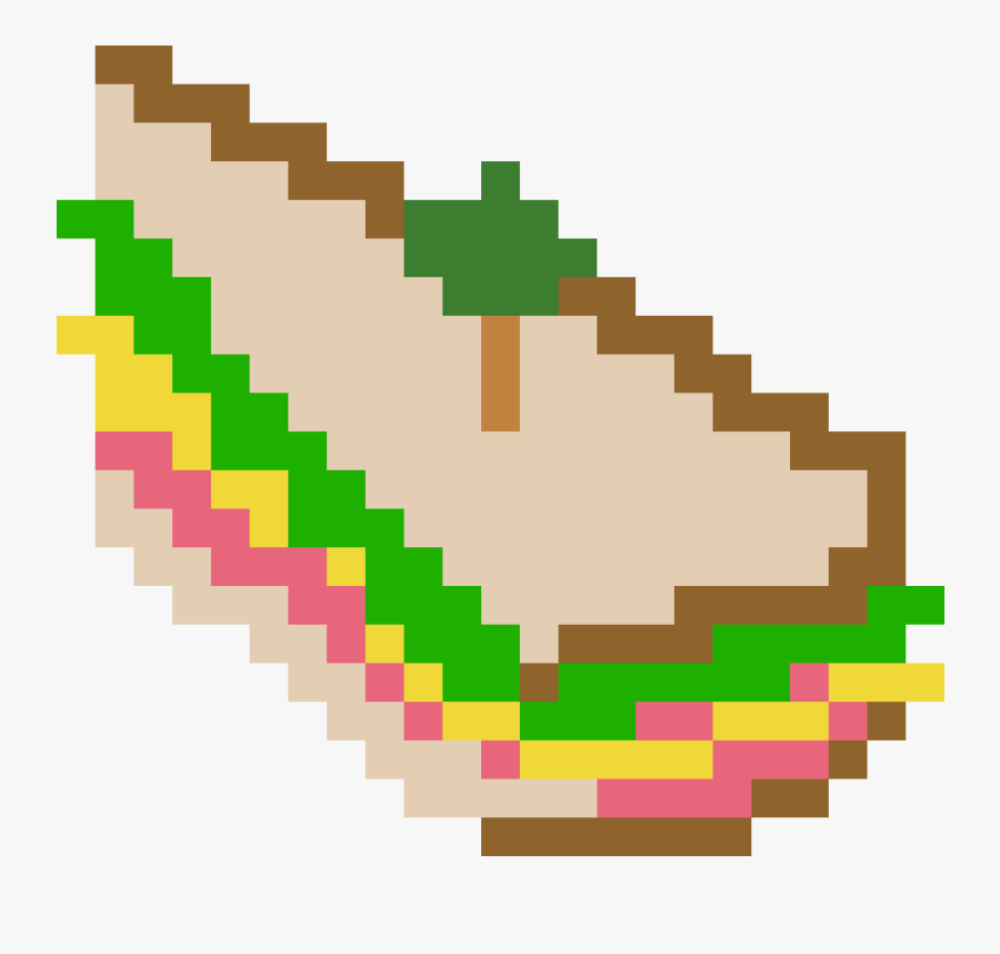 Team Fortress 2 Sandwich Clipart , Png Download - Perler Bead Patterns Oswald, Transparent Clipart