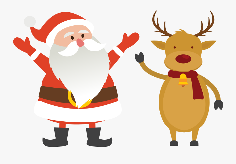 Transparent Santa Claus Clipart, Transparent Clipart