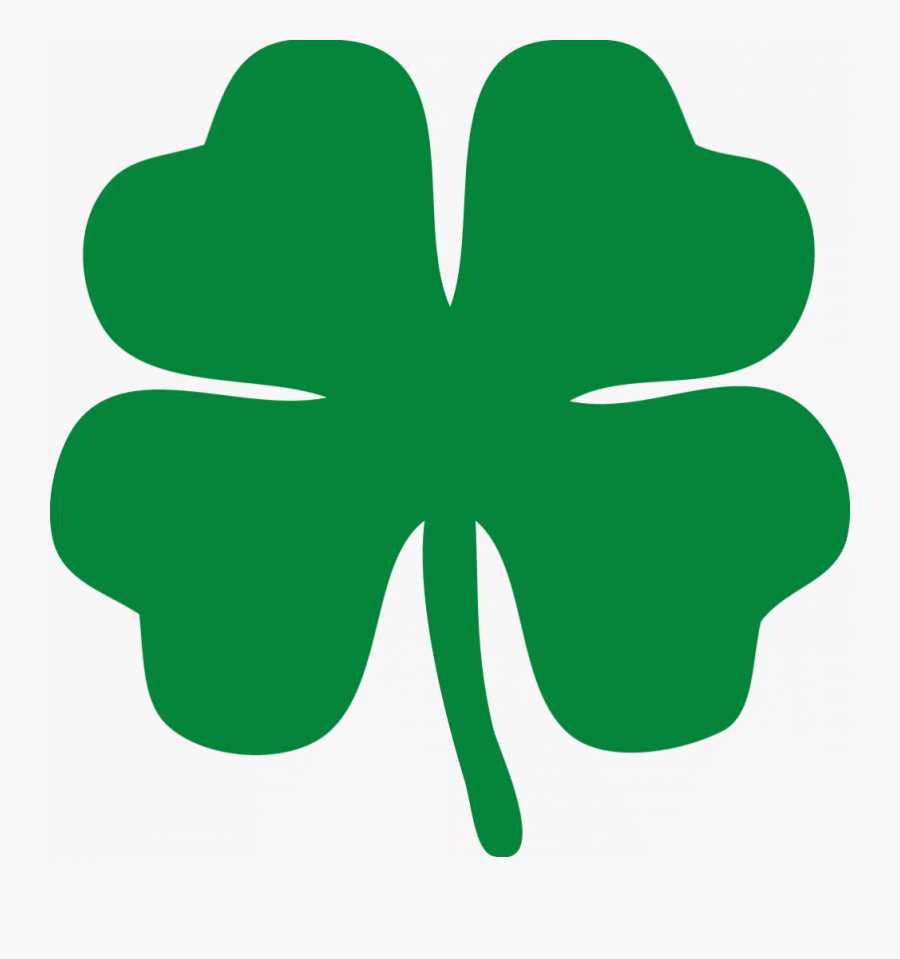 4 Leaf Clover - Animated 4 Leaf Clover, Transparent Clipart