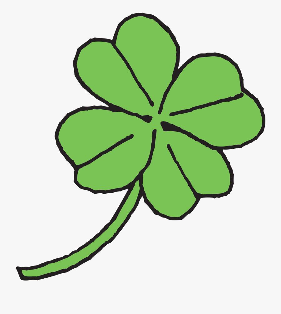4 Leaf Clover Png Clipart - Four-leaf Clover, Transparent Clipart