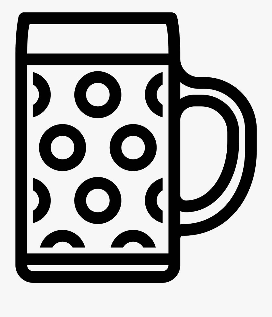 Beer Mug Icon - Beer Png Mug Icon, Transparent Clipart