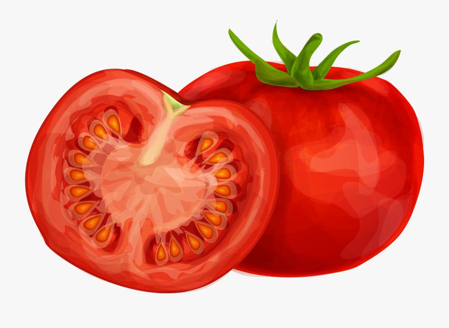 Tomato Clipart Png Image 01 - Tomato Clipart, Transparent Clipart