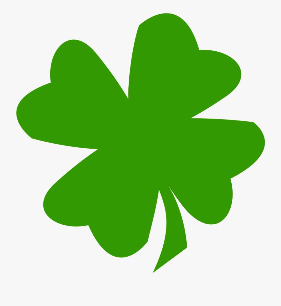 Luck, Klee, Have, Lucky Clover, Four Leaf Clover, Green - Four Leaf Clover Decal, Transparent Clipart